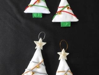 Christmas Tree Decoration - Set of 4