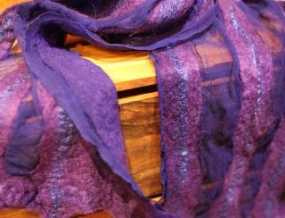 Felt & Silk Scarves