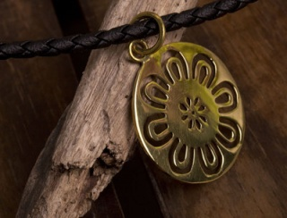 Flower Pattern Pendant