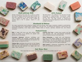 Frankincense and Myrrh Yak Milk Soap