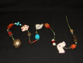 Bells and Beads Wall Hanging