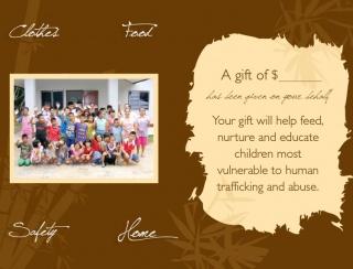 Donation Gift Card - Nurture