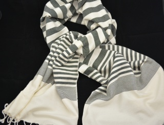 Hand Loomed Soft Cotton Scarf
